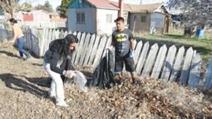 studen volunteers