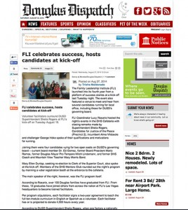 Douglas Dispatch Features FLI!